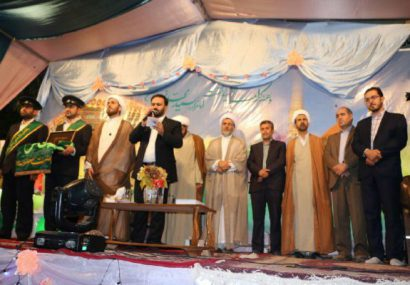 حضور کاروان سفیران کریمه درمراسم جشن ویژه دهه کرامت در قهدریجان/تصاویر