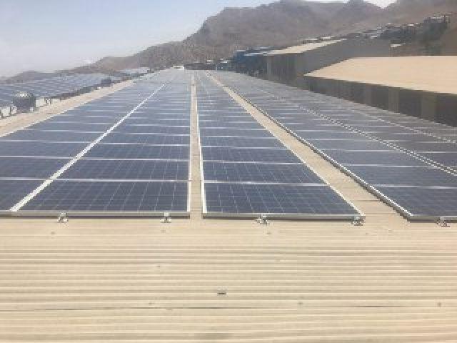 افتتاح نیروگاه خورشیدی در شهرک صنعتی اشترجان شهرستان فلاورجان