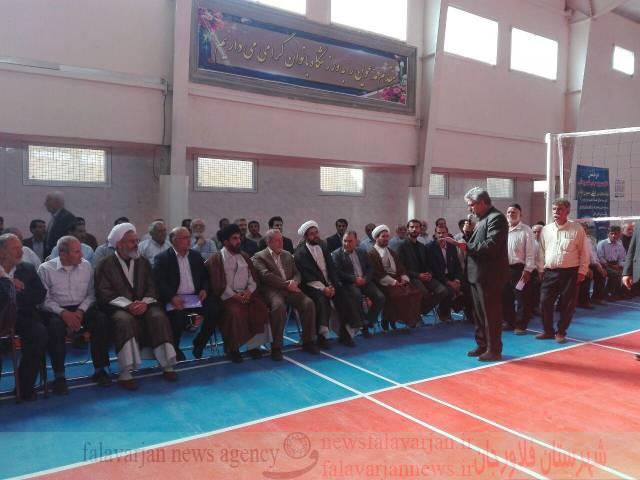 افتتاح ورزشگاه بانوان و زورخانه پوریای ولی در قهدریجان