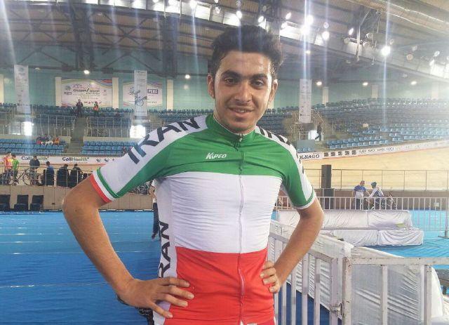 قهرمانی دوچرخهسوار قهدریجانی در مسابقات کشوری پیست جوانان
