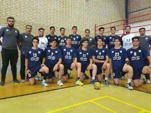 راهیابی تیم هندبال فلاورجان به فینال مسابقات کشور
