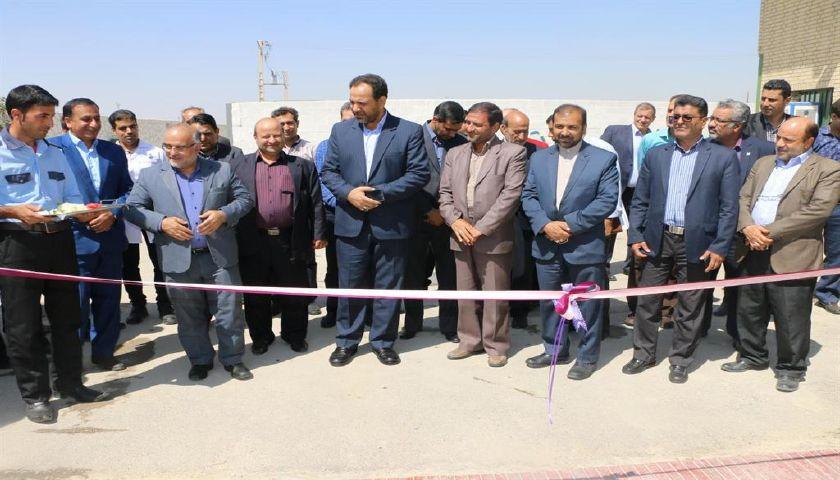 افتتاح خط تولید شرکت تعاونی متین سبز زاینده رود در شهرستان فلاورجان