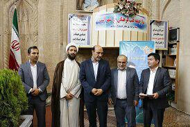 14 - مراسم معارفه شهردار جدید ایمانشهر در مسجد تاریخی اشترجان  برگزار شد/تصاویر