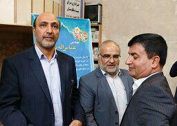 مراسم معارفه شهردار جدید ایمانشهر در مسجد تاریخی اشترجان  برگزار شد/تصاویر