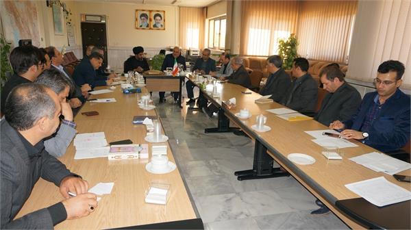 جلسه بررسی روند توسعه و رسیدگی به مشکلات زیر ساخت های ارتباطی شهرستان فلاورجان