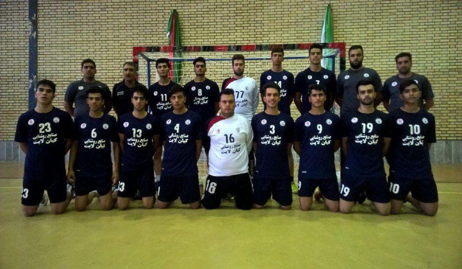راهیابی تیم هندبال جوانان فلاورجان به مرحله یک چهارم نهایی مسابقات جوانان باشگاههای کشور