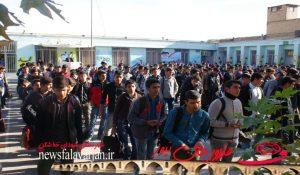 161200000 161 300x175 - تصاویر/کاروان ایثار کنگره شهدای خط شکن در هنرستان شهید بهشتی فلاورجان