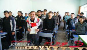 171200000 171 300x175 - تصاویر/کاروان ایثار کنگره شهدای خط شکن در هنرستان شهید بهشتی فلاورجان