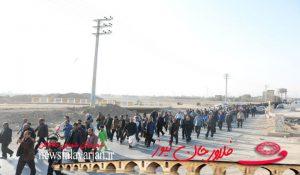 ddff200000 145 300x175 - پیاده روی بین الحرمین فلاورجان به مناسبت ایام اربعین /تصاویر