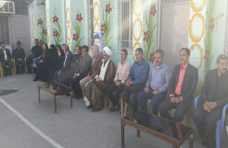 falna9600000 049 - یادواره شهید محبوب رحیمی در  هنرستان دکتر بهشتی فلاورجان برگزار شد