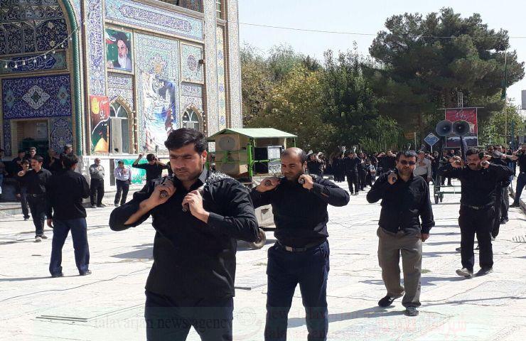 k9600000 122 - گزارش تصویری مراسم روزتاسوعادرامامزاده سیدمحمد(ع)قهدریجان