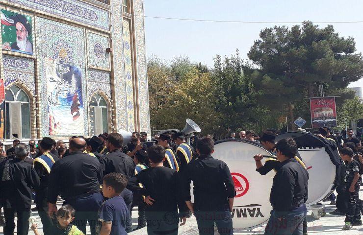 k9600000 123 - گزارش تصویری مراسم روزتاسوعادرامامزاده سیدمحمد(ع)قهدریجان