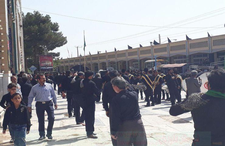 k9600000 124 - گزارش تصویری مراسم روزتاسوعادرامامزاده سیدمحمد(ع)قهدریجان