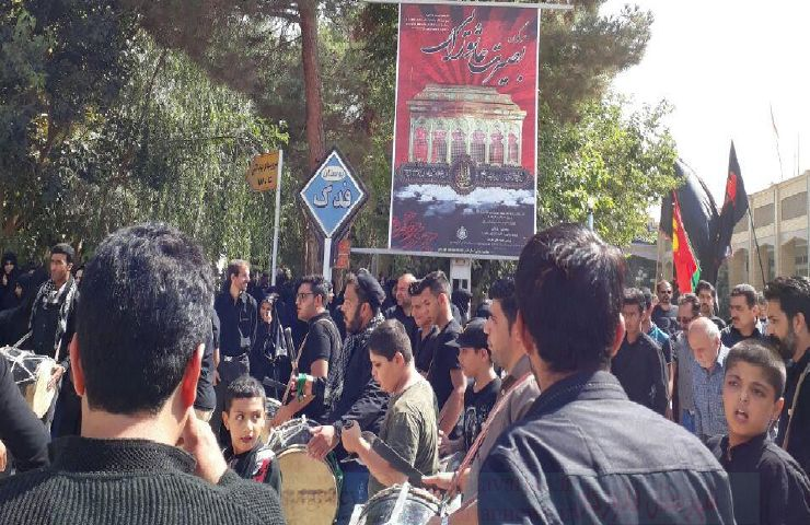k9600000 125 - گزارش تصویری مراسم روزتاسوعادرامامزاده سیدمحمد(ع)قهدریجان