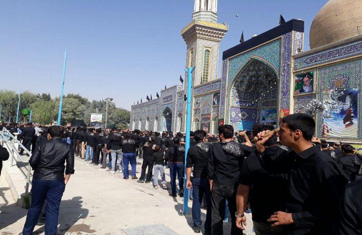 mm9600000 150 - گزارش تصویری مراسم روزعاشورا درامامزاده سیدمحمد(ع)قهدریجان