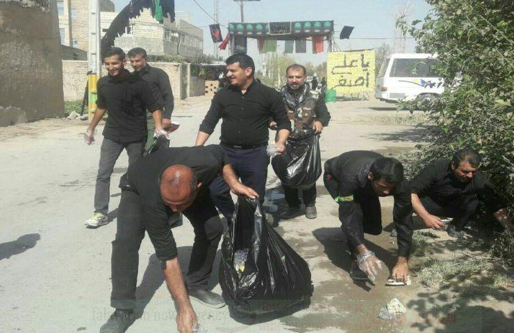 mohr9600000 139 - نظافت خودجوش توسط عزاداران+تصاویر
