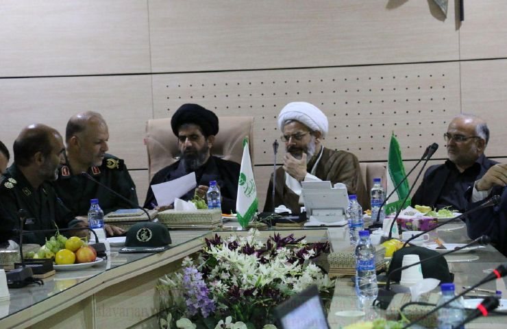 جلسه شورای سیاستگزاری کنگره شهدای خط شکن  شهرستان فلاورجان برگزار شد