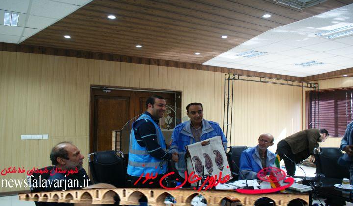 برگزاری ۷ مانور در شهرستان فلاورجان توسط  مدیریت بحران فرمانداری