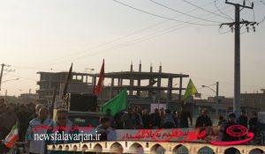 yyr200000 165 300x175 - پیاده روی بین الحرمین فلاورجان به مناسبت ایام اربعین /تصاویر