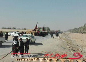 27919085500 279 300x217 - پیاده روی جاماندگان از کربلای حسینی در شهرستان فلاورجان+تصاویر