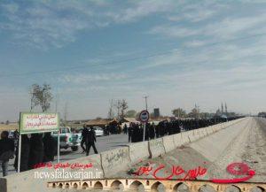 28219085500 282 300x217 - پیاده روی جاماندگان از کربلای حسینی در شهرستان فلاورجان+تصاویر
