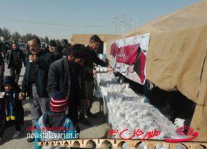 28419085500 284 300x217 - پیاده روی جاماندگان از کربلای حسینی در شهرستان فلاورجان+تصاویر