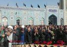 اقامه نماز ظهر اربعین در  امامزاده سیدمحمد (ع) قهدریجان +عکس+فیلم