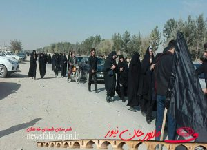 29019085500 290 300x217 - پیاده روی جاماندگان از کربلای حسینی در شهرستان فلاورجان+تصاویر