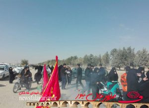 29319085500 293 300x217 - پیاده روی جاماندگان از کربلای حسینی در شهرستان فلاورجان+تصاویر