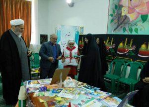 30619085500 306 300x217 - گزارش تصویری: مراسم افتتاحیه نمایشگاه کتاب در مدرسه سید مرتضی پیربکران
