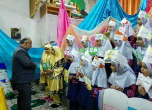 31019085500 310 300x217 - گزارش تصویری: مراسم افتتاحیه نمایشگاه کتاب در مدرسه سید مرتضی پیربکران