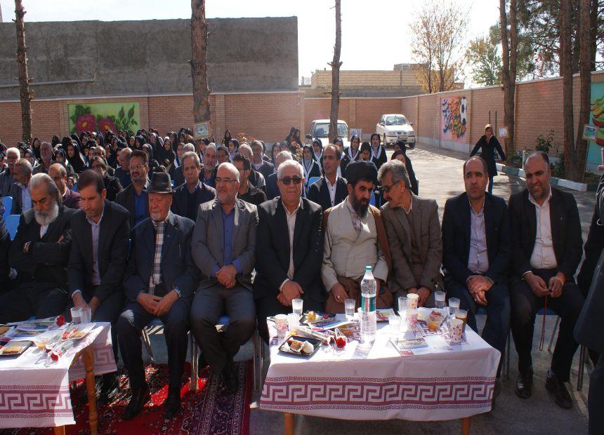 تصاویر /افتتاح مدرسه خیرساز در روستای قلعه میر بخش قهدریجان