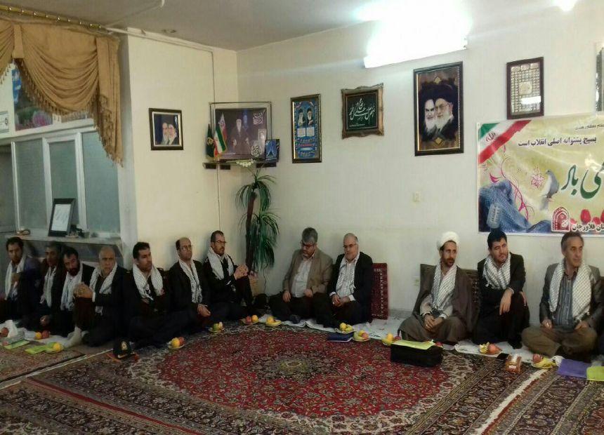 جلسه شورای قشر بسیج اصناف فلاورجان با حضور مسئولین شهرستان برگزار شد