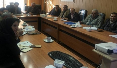 جلسه هماهنگی نظام نوین ترویج کشاورزی در شهرستان فلاورجان برگزار گردید