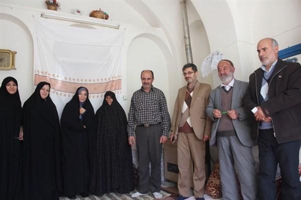دیدار هیات رئیسه دانشگاه آزاد اسلامی فلاورجان با خانواده شهید سلیمانی