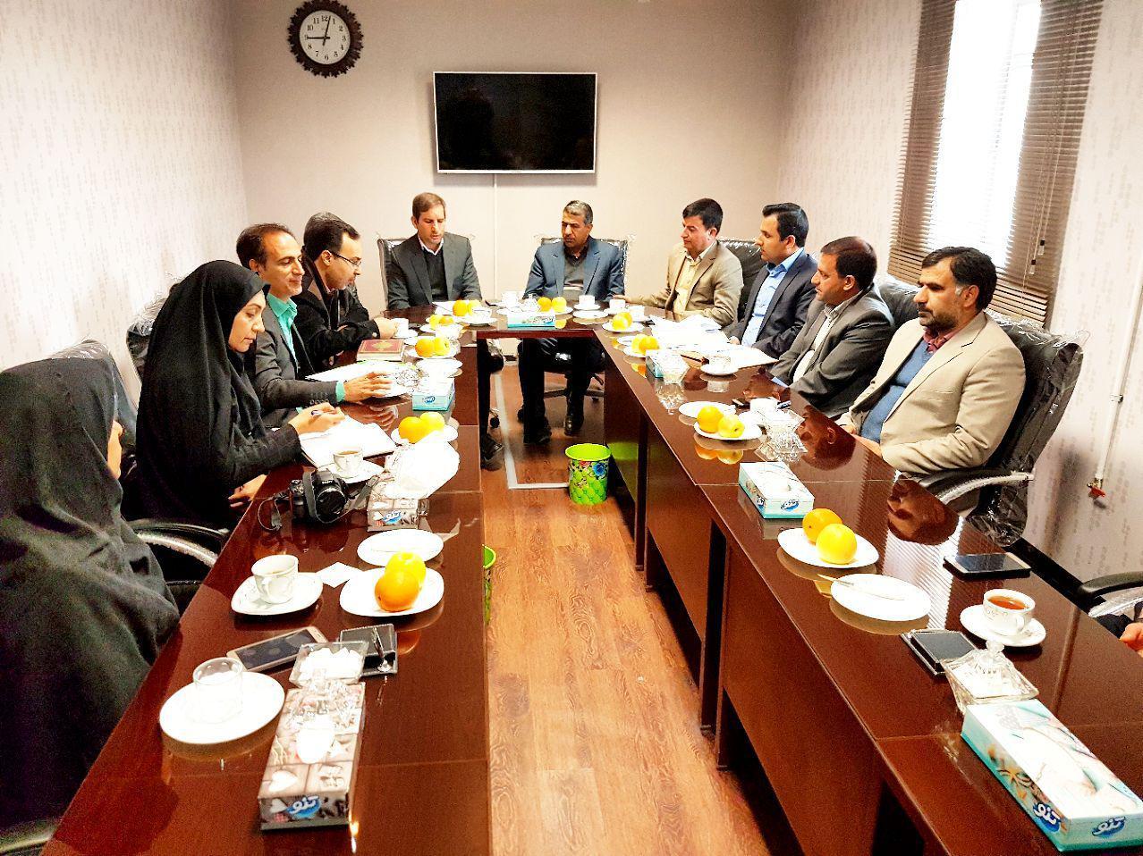 جلسه شورای آموزش و پرورش شهرستان فلاورجان در ایمانشهر برگزار شد