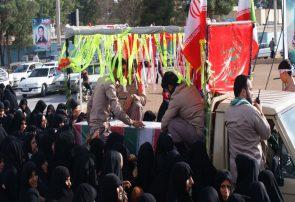 تشییع پیکر شهیدان گمنام در قهدریجان /گزارش تصویری ۱