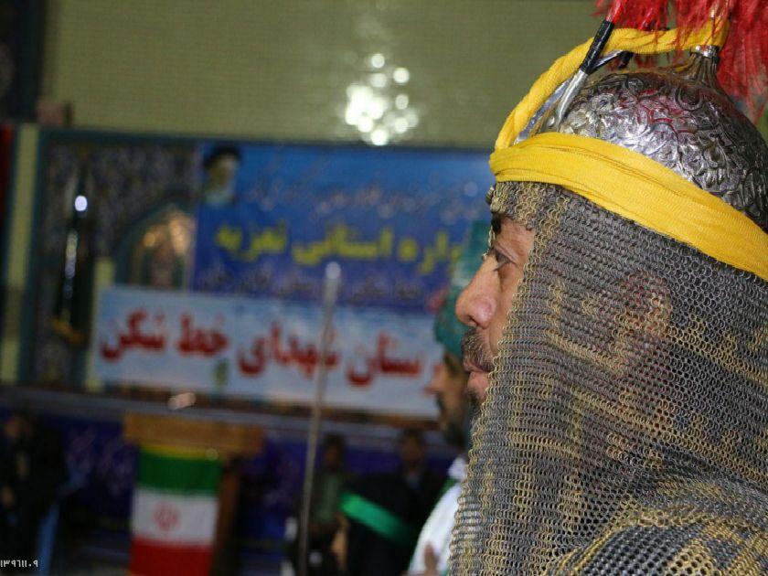 برگزاری سوگواره استانی تعزیه در شهرستان فلاورجان+عکس