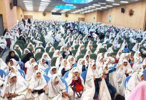 آیین جشن تکلیف دانش آموزان پایه سوم ابتدایی فلاورجان برگزار گردید