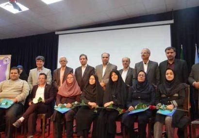 مراسم تجلیل از معلمان نمونه شهرستان فلاورجان برگزار شد