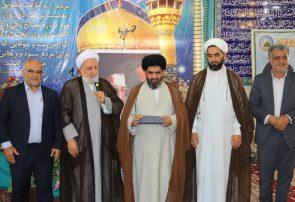 امام جمعه جدید شهر تاریخی پیربکران  معارفه شد