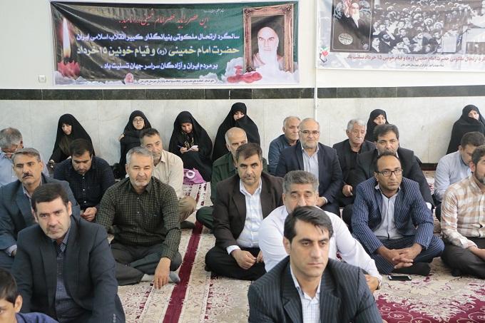 مراسم سالگرد رحلت امام خمینی رحمت الله علیه در فلاورجان برگزار شد/گزارش تصویری