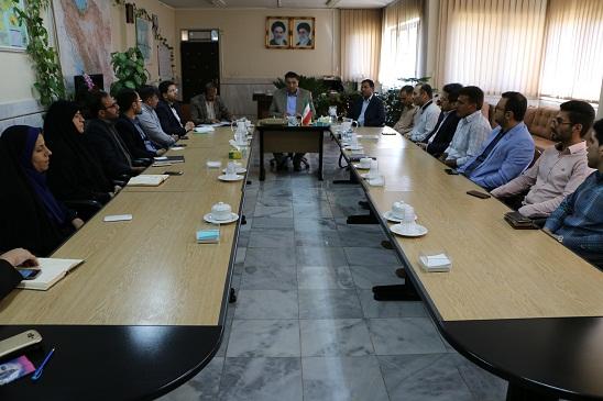 دیدار انجمن دانش آموختگان و دانشجویان شهرستان فلاورجان با سرپرست فرمانداری