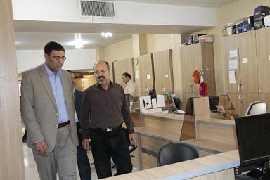 بازدید سرزده از اداره امور مالیاتی شهرستان فلاورجان