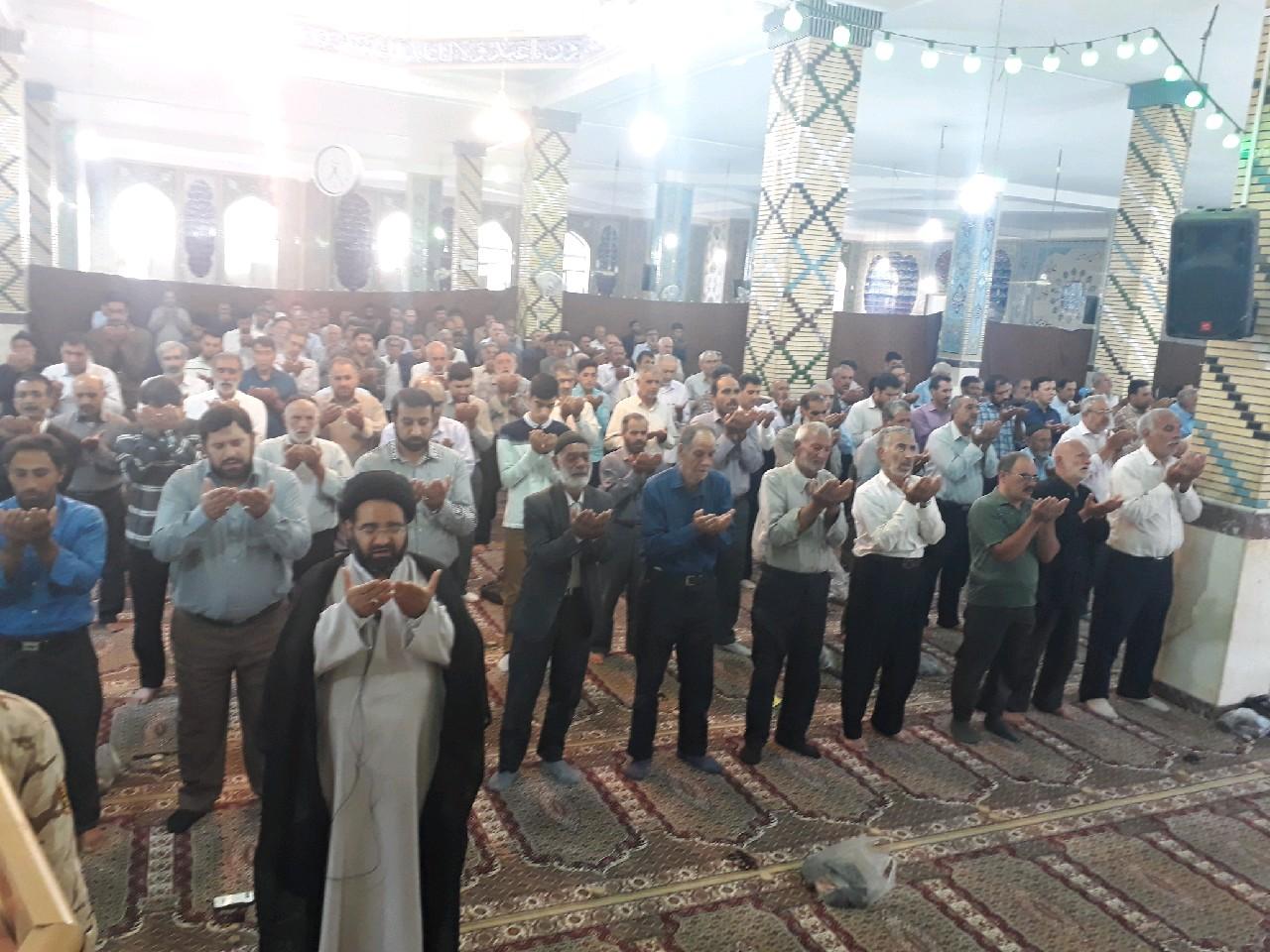 نمازعیدسعیدقربان درشهرستان فلاورجان اقامه شد