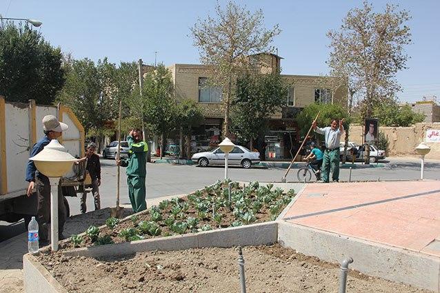 اقدامات شهرداری فلاورجان بمناسبت بازگشایی مدرسهها+تصاویر
