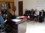جلسه امور برق  فلاورجان با شورای اسلامی شهر فلاورجان جهت حل مشکلات مردمی
