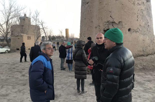 بازدیدفعالین گردشگری ایتالیا از آثار تاربخی شهرستان فلاورجان