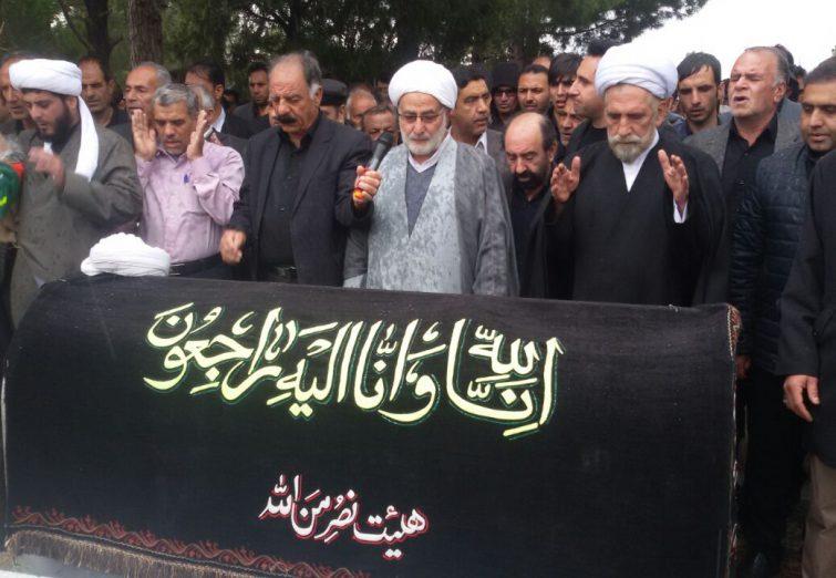 تشییع پیکر علم ربانی حجتالاسلام والمسلمین مینادشتی