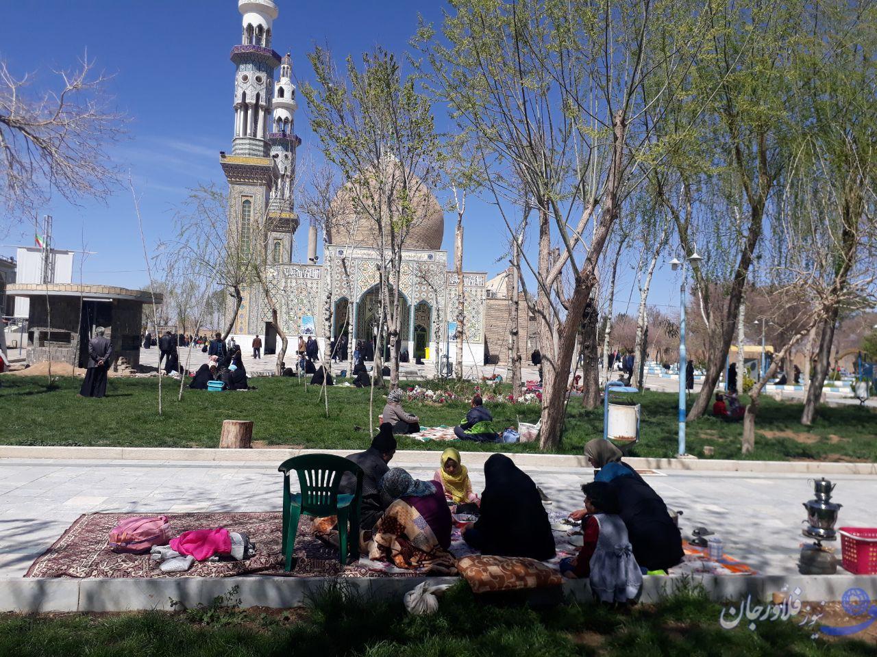 روز طبیعت در جوار آستان مقدس امامزاده سید محمد (ع) قهدریجان